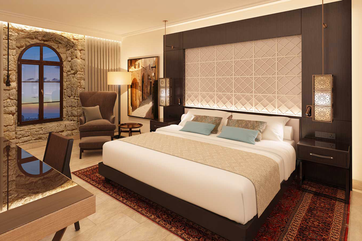 Hotel Suite in Tel Aviv with durmast furnishings